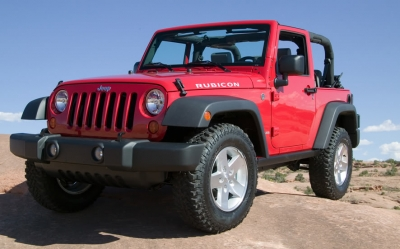 Jeep Wrangler Limited 2015 mit Soft Top für 4 Personen