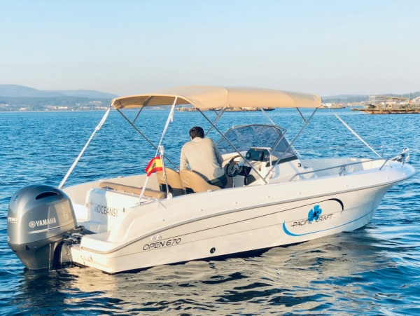 Quicksilver Pacific Craft 670 Open