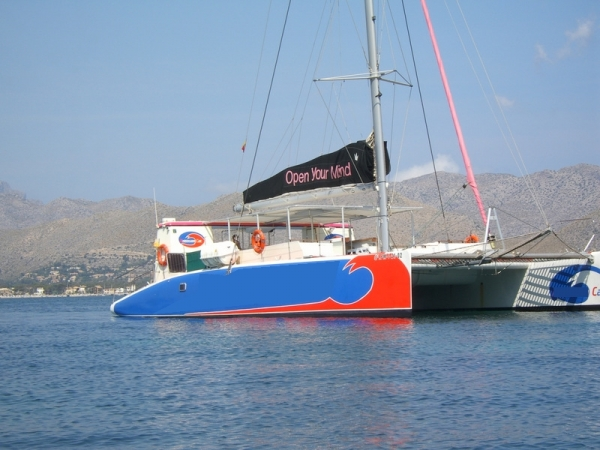 Sailing catamaran from Puerto Pollensa 4 hours trip