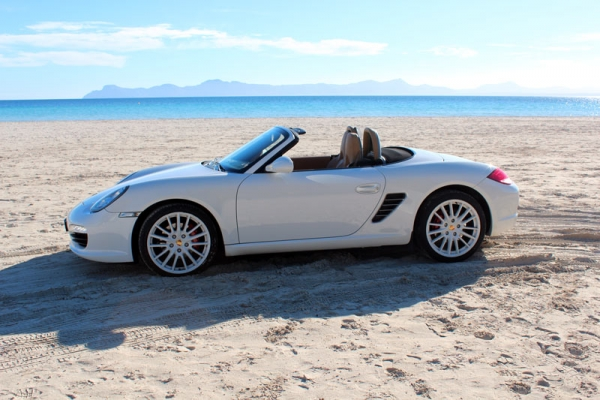 Porsche S Boxster Cabrio for rent on Majorca
