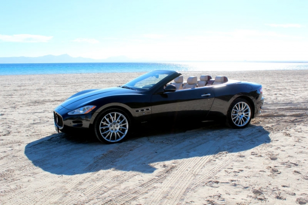 Maserati Cabriolet luxury car for rent