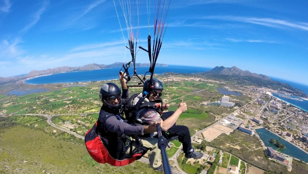 Paragliding- Mallorca from a different view - pure adrenaline !