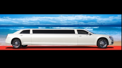 Airport transfer Limousine Chrysler 300c Bentley Edition 8 guests