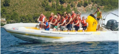 Speedboat Trip for 1h adventure with pure adrenaline