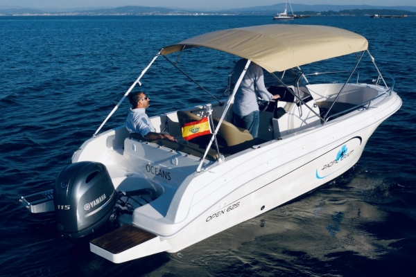 Quicksilver Pacific Craft 625 Open