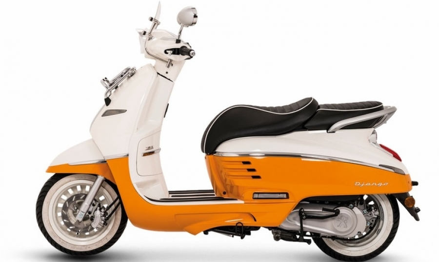offshore mallorca peugeot django evasion 125cc scooter for rent. Black Bedroom Furniture Sets. Home Design Ideas