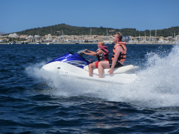 Jet 1h rent unforgettable trip from Alcudia to Cap de Pinar