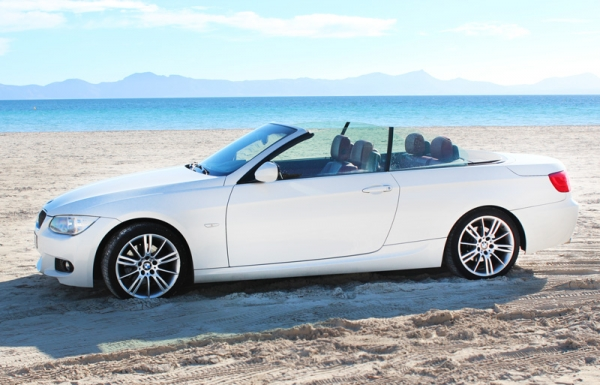 BMW 320 for 4 Pax for rent on Majorca