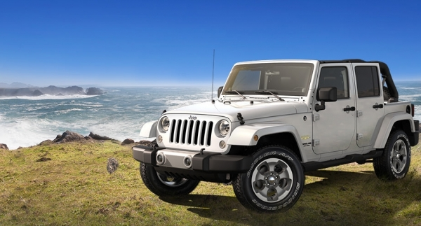 Wrangler Jeep Unlimited 2015 wiht Soft Top for 5 Pax