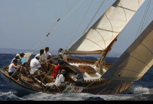 Classic Sailing Yacht 15.61 m for lovers 1936